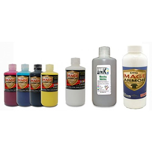 Image Armor E-Series DTG Ink Small Change-over Kit by Garment Printer Ink