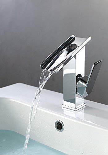 25 Oudan Basin Mixer Tap Bathroom Sink Faucet The Waterfall Basin Faucet 10 (color   15)