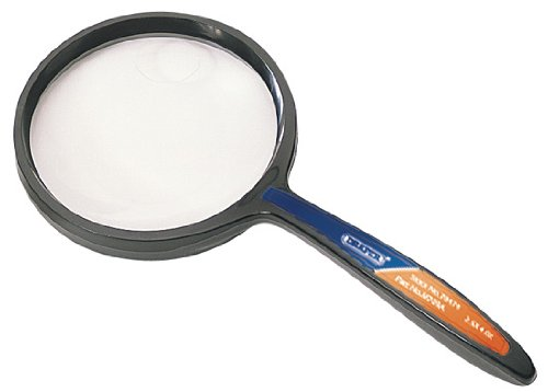 philatelists Plastic lightweight magnifiers ideal for engineers Main lens magnification x 3 with inset x 6 70MM DIAMETER X 3 ROUND MAGNIFIER etc Display packed.