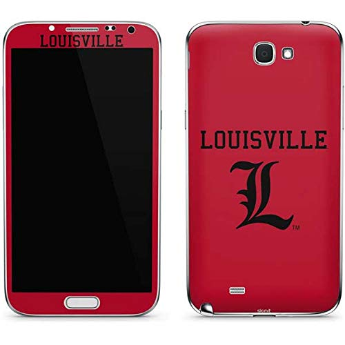 Skinit Louisville Cardinals Galaxy Note II Skin - Officially Licensed College Phone Decal - Ultra Thin, Lightweight Vinyl Decal Protection ()