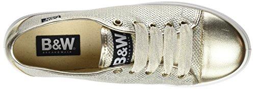 Break&Walk Hv212872, Zapatillas para Mujer Dorado (Platino)