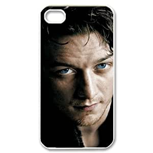 QSWHXN James Andrew McAvoy 2 Phone Case For Iphone 4/4s [Pattern-4]