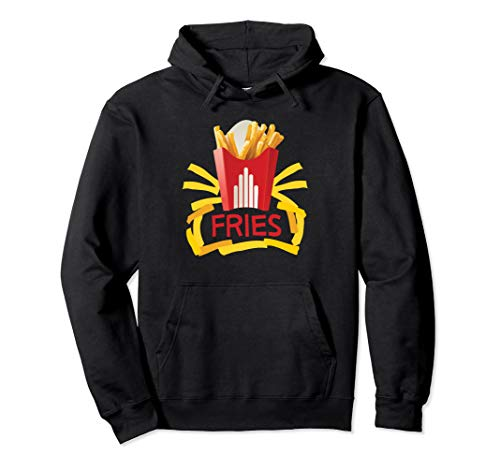 French Fries Halloween Costume Hoodie Groups Burger & Fries ()