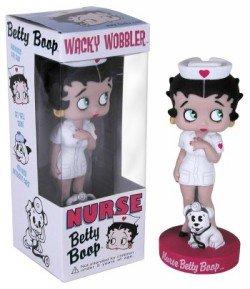 - Funko Wacky Wobbler Betty Boop Nurse