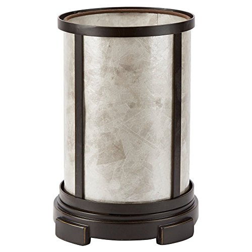 Silver Mica Uplight Table Lamp product image