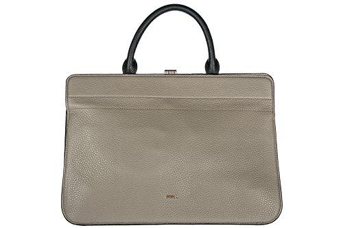 Furla bolso de mano para compras en piel mujer nuevo mirage beige