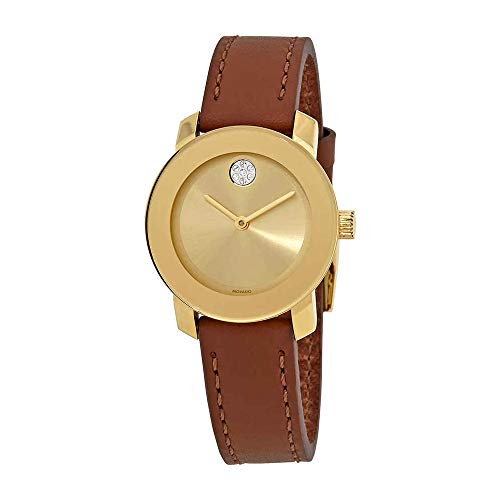 (Movado Women's Bold - 3600437 Yellow Gold Ion-Plated One Size)