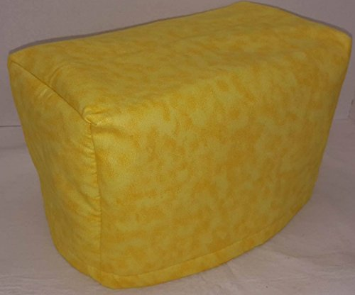 2 or 4 Slice Toaster Cover (4 Slice, Canary Yellow)