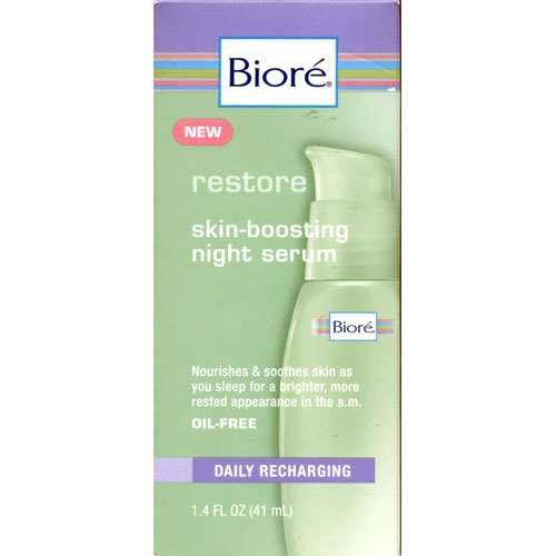 (Biore Skin Boosting Night Serum 1.4 fl oz (41 ml))