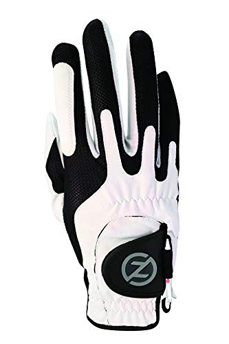 Zero Friction Men's Golf Gloves, Right Hand, One Size, White ()
