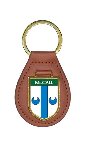 McCall Family Crest 10 Coat of Arms Key Chains ()