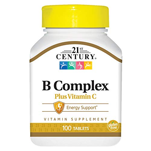 (21st Century B Complex with C Tablets, 100 Count)