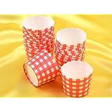 Cupcake Cup rot 20 Stück