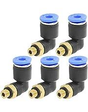LNIEGEl Hilo de Montaje Codo Neumáticos Conector neumático rápido (5PCS)