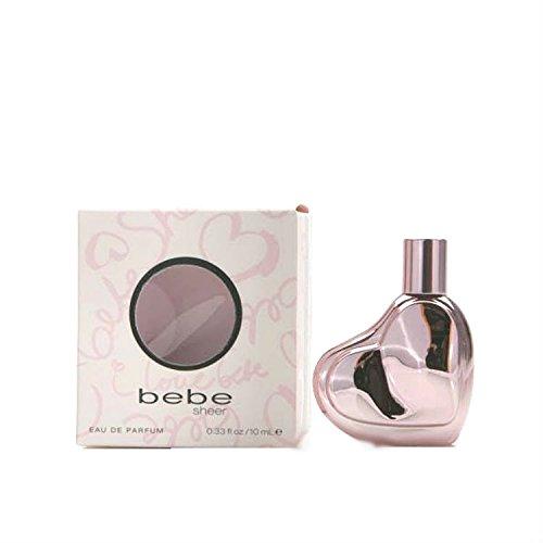 Bebe Designer (Bebe Sheer FOR WOMEN by Bebe - 0.33 oz EDP Mini)