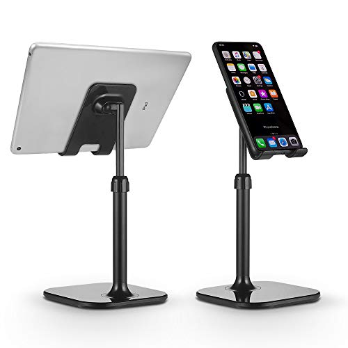 Cell Phone Stand,Angle Height Adjustable Moreslan Phone Dock Cradle, Holder for Desk,Compatible with Phone 12 Mini 11…