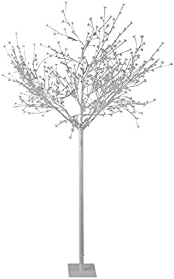 Led Dekobaum Weiß Aussen Ip44 Outdoor Led Baum 600 Led 1200 Lumen