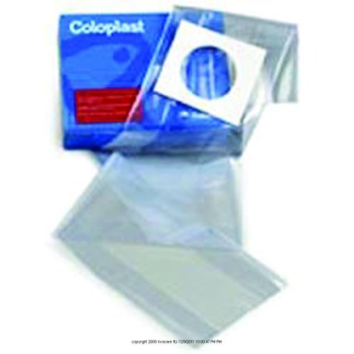 Assura Disposable Transparent Irrigation Sleeve, Irrig Slv Adh Back Trn, (1 BOX, 10 EACH) by COLOPLAST CORPORATION