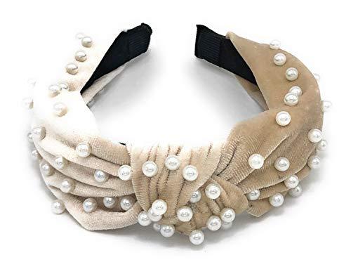 Somewhere Haute Top knot Embellished Headband product image