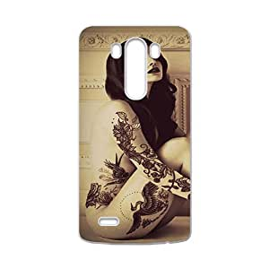 Tattoo Of Lana Del Rey Cell Phone Case for LG G3