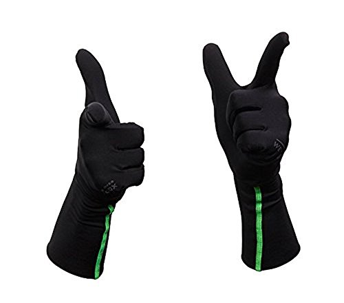 WETSOX Gloves, Frictionless Wetsuit Glove Liners for Diving and Surfing, Get In and Out of Wetsuits or Wetsuit Gloves Easily, Increases Life of Gear, Ultra thin Poly/Spandex - Wetsuit Liner