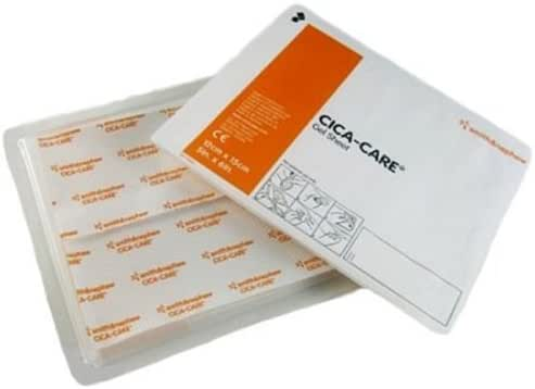 Cica Care Silicone Gel Sheeting 5 x 6 Inch, Sterile