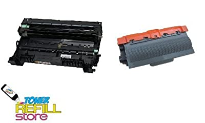 Toner Refill Store ™ 1 Brother Compatible TN750 TN-750 Toner Cartridges and 1 Brother Compatible DR720 DR-720 Drum Unit