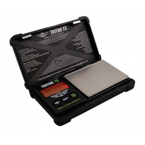 My Weigh T3-400 Triton T3 400 Gram x 0.01 Digital Pocket Scale Black by My Weigh