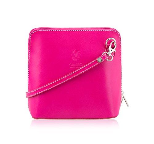 Nero Borsa a Pink donna Nero tracolla Mayfair Cashmere XOfqP6