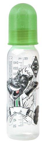 "primamma 44561700 - Babyflasche ""Borussia Mönchengladbach"" 250ml Silikon Gr. 1"