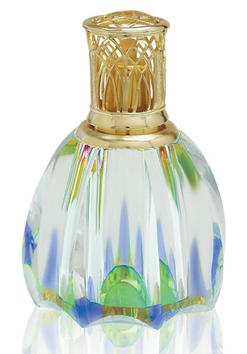 Alexandria's Fragrance Lamp - Blossom (Crystal Collection) - Set Comes With, Lamp, Wick Stone Assembly, Vent Lid, Solid Cap and Funnel. by Alexandria Lamps
