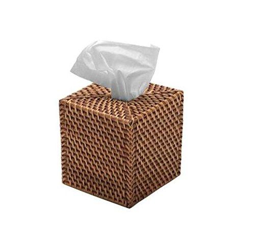 Square Rattan Tissue Box (Rattan Holder)