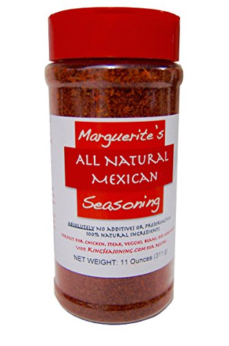 Marguerite's All Natural Mexican Seasoning (11 Ounce)