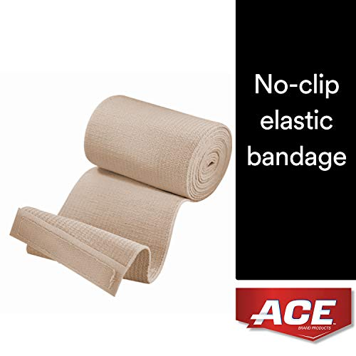 Elastic Velcro Ace Bandage - ACE Elastic Bandage with Hook Closure, 3 Inches Width (Pack of 2)