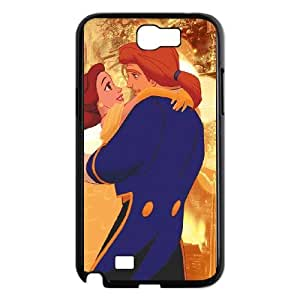 Beauty and the Beast The Enchanted Christmas Samsung Galaxy N2 7100 Cell Phone Case Black Phone cover P554220