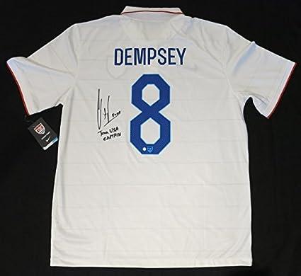 Clint Dempsey Autographed Soccer Jersey
