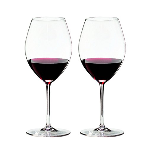 Riedel Sommeliers Leaded Crystal Hermitage/Syrah Wine Glass, Set of 2 ()