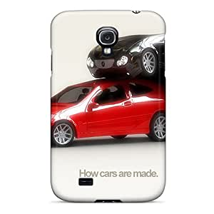 Premium How Cars Are Made For Galaxy S4 Case - Protective Skin - High Quality