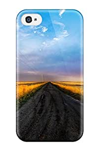 Hard Plastic Iphone 4/4s Case Back Cover,hot Road Case At Perfect Diy