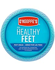 O'Keeffe's Healthy Feet Foot Cream Relieves and Repairs Extremely Dry Cracked Feet Instantly Boosts Moisture 3.2 oz / 90.7 g Jar (Pack of 1) K1320013
