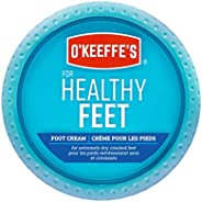 O'Keeffe's Healthy Feet Foot Cream Relieves and Repairs Extremely Dry Cracked Feet Instantly Boosts Mo
