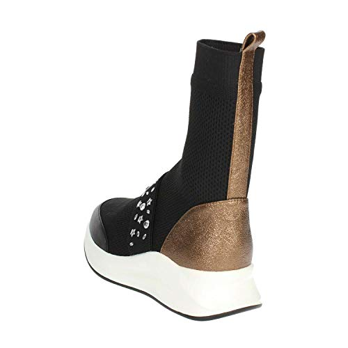 Noir Femme Pcg04001 Sneakers At Span Dyqgoxfd Haute Pregunta Epqz5qx