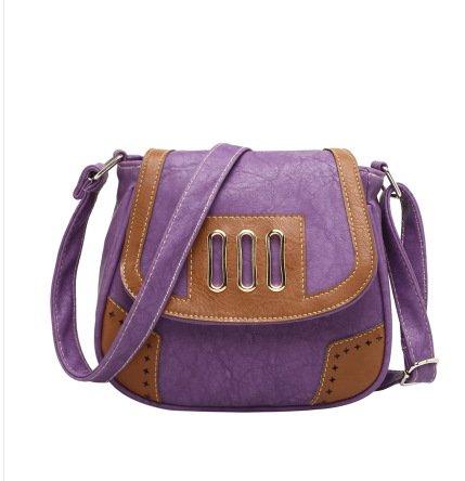 Meoaeo Muelle Nuevo Bolso Bolso Messenger Deep Purple Lilac colour