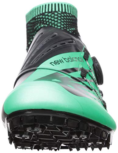 New Balance Men's Sigma V2 Vazee Track Shoe neon Emerald/Black 7 D US by New Balance (Image #4)