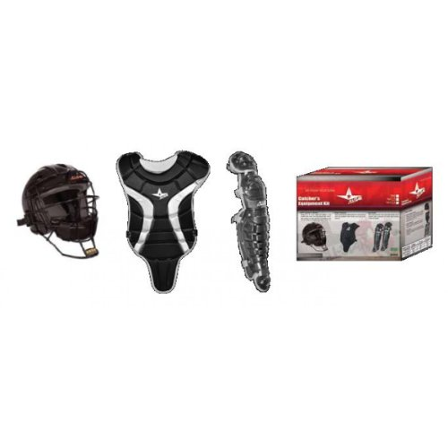 Ages 7-9 Little League Minors/Pony League Mustangs Kid Pitch Catching Starter Kit