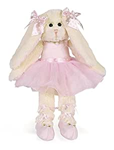 Bearington Collection Lil Ballerina - Conejo de peluche con tutú (38,1 cm)