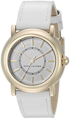 마크제이콥스 코트니 시계 마크 제이콥스 Marc Jacobs Womens Courtney White Leather Watch - MJ1449