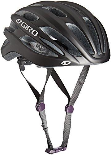 Giro Women's Saga Cycling Helmet - Matte Titanium Checkers, Small