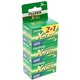 Fujifilm Superia X-TRA 400 Pellicule papier couleur  135 (35 mm)  ISO 400 36 poses 3 rouleaux