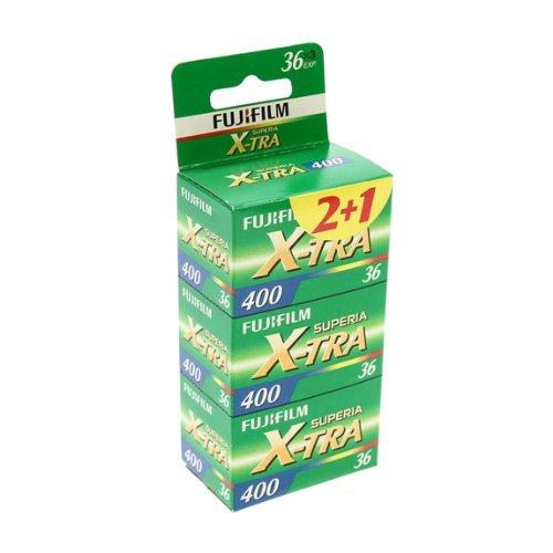 Fujifilm Superia X-TRA 400 36 Exposure Film (Pack of 3)